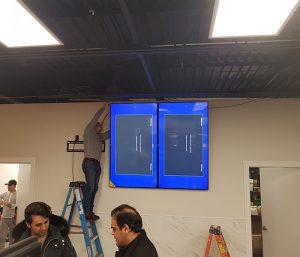 Toronto TV Commercial Installation