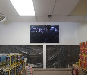 Wall Mounting TVs for Commercial Business