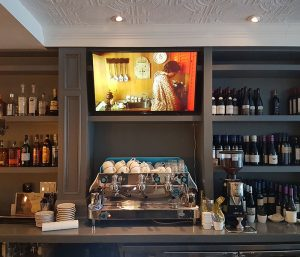 TV Installations For Restaurants
